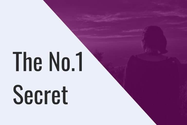 The no.1 Secret