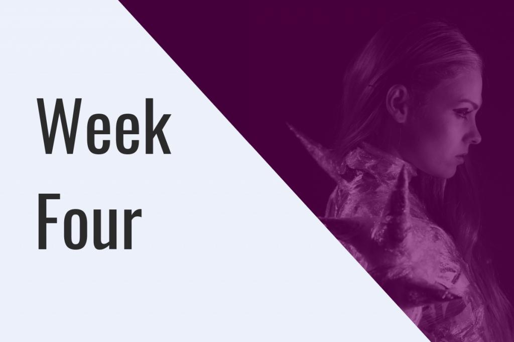 Week Four Mentoring Programme