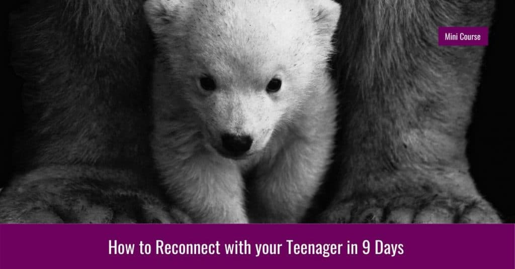 how to reconnect with your teenager in 9 days